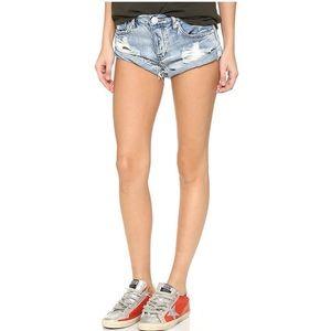 One Teaspoon Hendrix Bandit Shorts (Size:28)